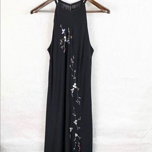 Jones Wear Maxi High Low Sequin Dress Size 14 NWT
